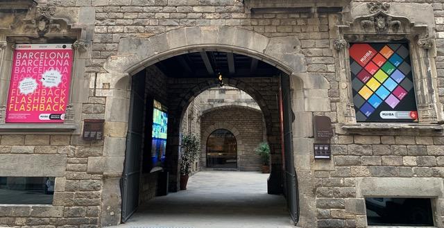 Каса Падейяс, ныне музей истории Барселоны